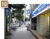 「ローソン広小路栄四丁目店」を通り過ぎたら、もうすぐ到着です。