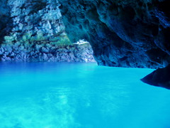 真栄田岬 青の洞窟体験ツアー 〜ボートで行く神秘の海への体験ツアー〜