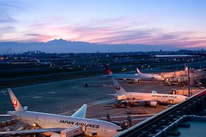 羽田空港から直通の京急エアポート特急で約20分!