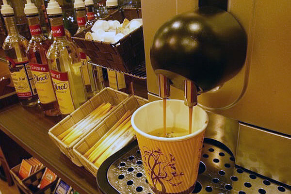 宿泊のお客様<br />カフェにてコーヒー無料サービス