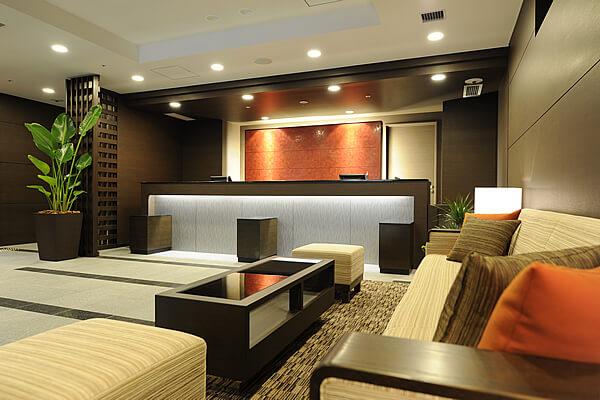 女性に優しいホテル、アロマの香りでお出迎え。レディースルームもご用意