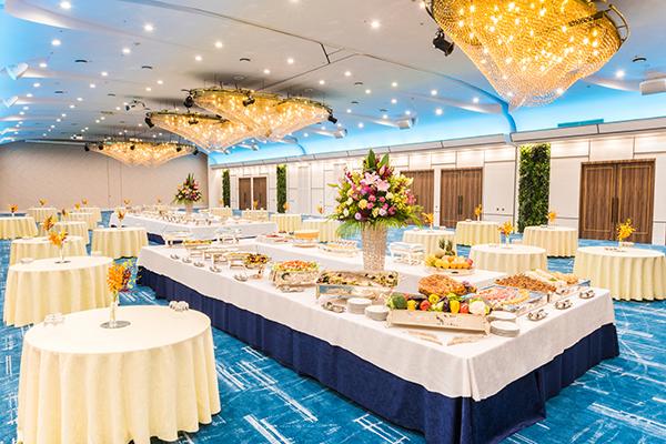 大宴会場 珊瑚の間 2018年3月1日内装設備が一新しました。