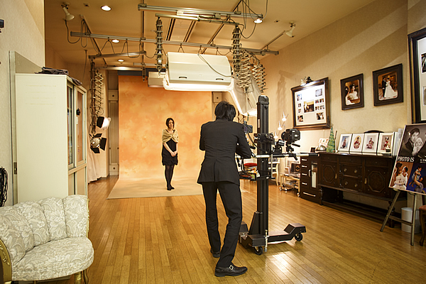 写真室(ホテルB2F)