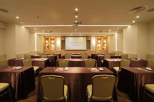 様々なニーズに対応できる宴会場<br />きめ細やかなサービスを提供