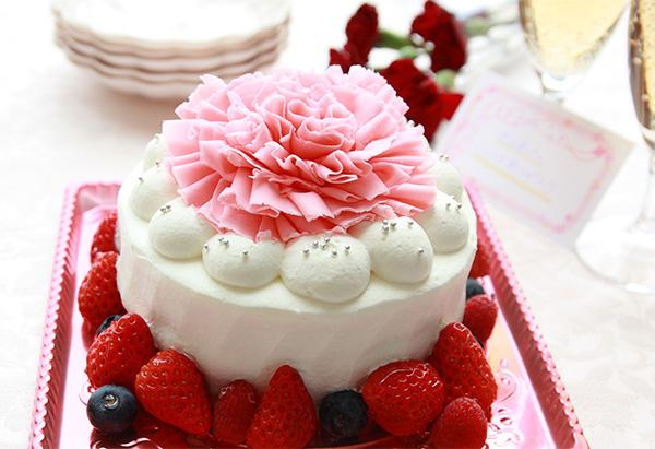 母の日へ感謝の気持ちを込めて「プレミアムフラワーケーキ」ご予約承り中