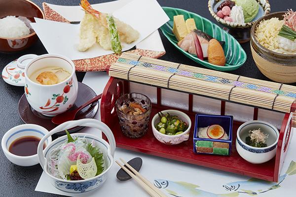 【中津川】レディースランチ ~目の前で揚げた天ぷらをお召し上がりいただけます。2,300円(税別)