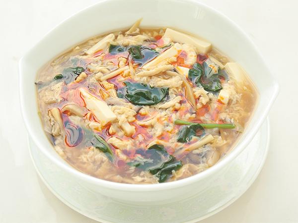 今月のおすすめ麺【酸辣湯麺】