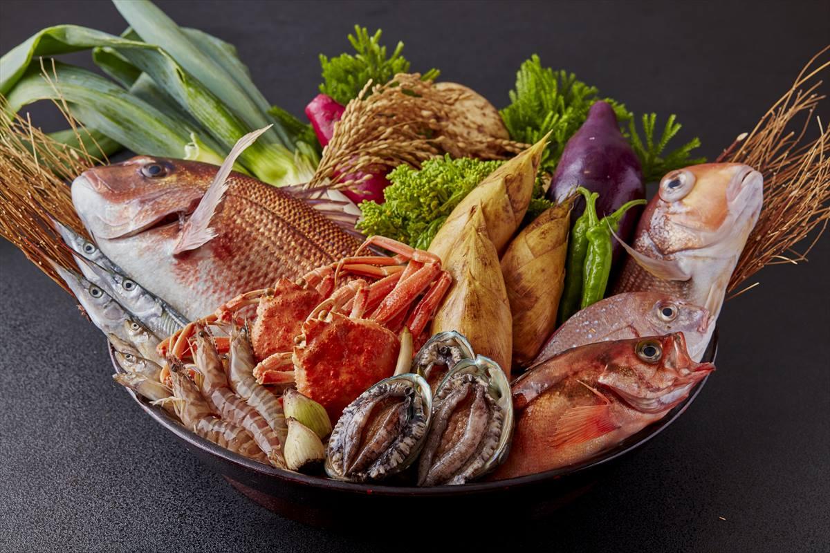【中津川】冬の厳選食材で楽しむ 滋味に富む海鮮尽くし 5,000円(税別)
