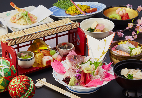 【中津川】ひな祭り会席 7,000円(税別)
