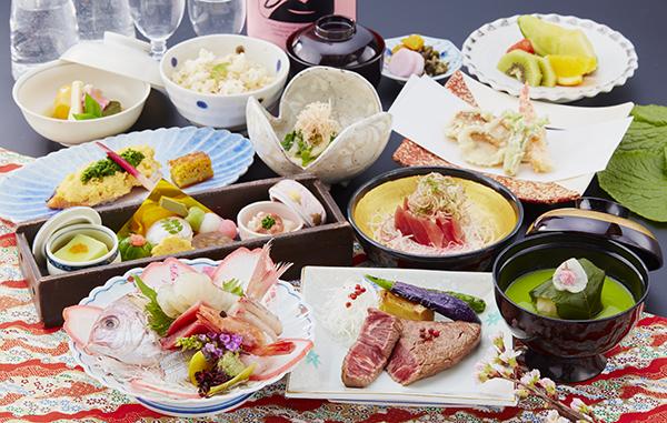 【中津川】料理長伊藤令人が贈る会席料理「春の祝い桜鯛の調べ」5,000円(税別)より