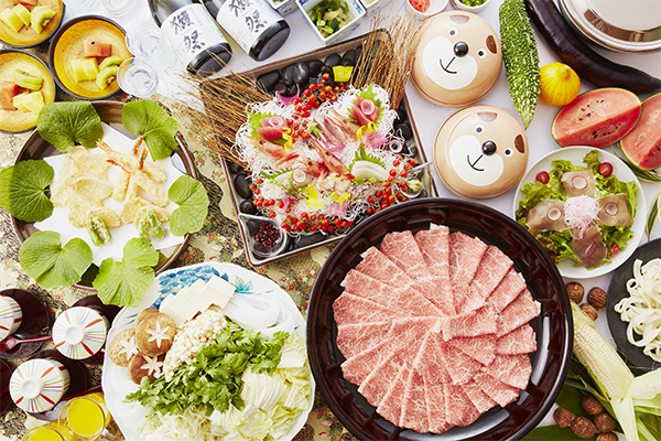 【レストラン】グルメプラン 2時間飲み放題付のご宴会プランをご用意しました。4,000円(税別)~