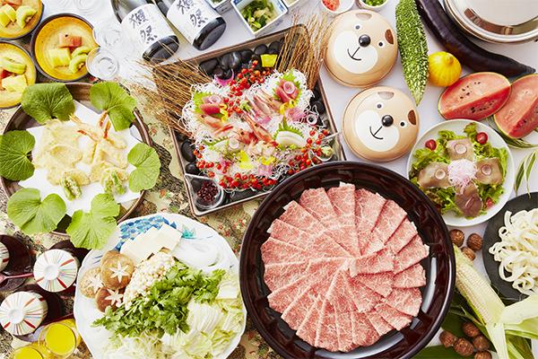 【中津川】天ぷらもお刺身もしゃぶしゃぶも家族みんなで楽しむファミリーコース 5,000円(税別)より
