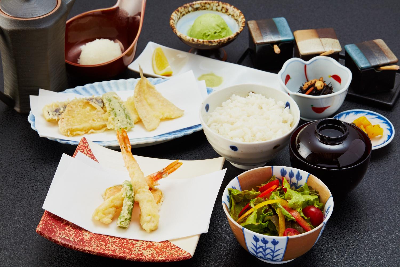 本格天ぷらをお手頃な価格で~天ぷら定食