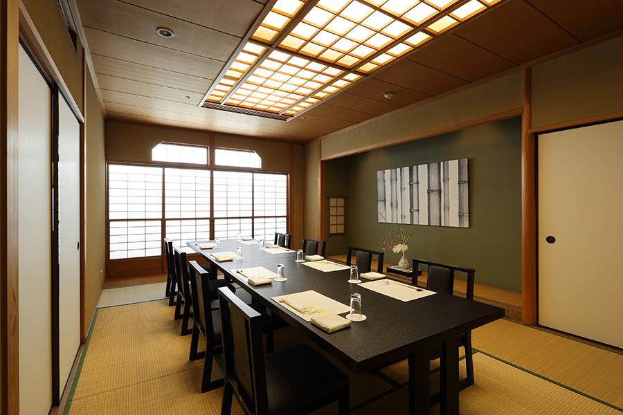 ベストウェスタンレンブラントホテル東京町田天麩羅しゃぶしゃぶ中津川別館和室