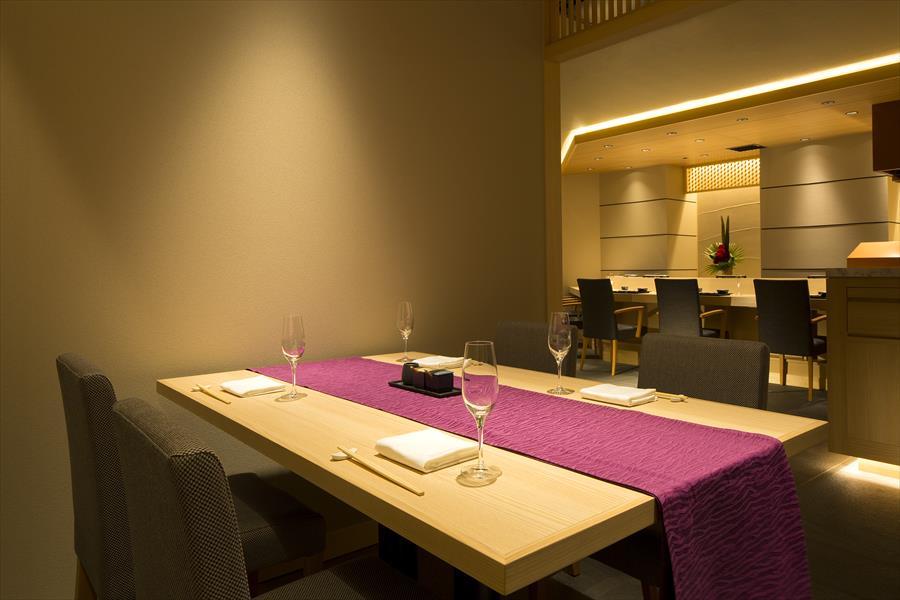 ベストウェスタンレンブラントホテル東京町田天麩羅しゃぶしゃぶ中津川の半個室