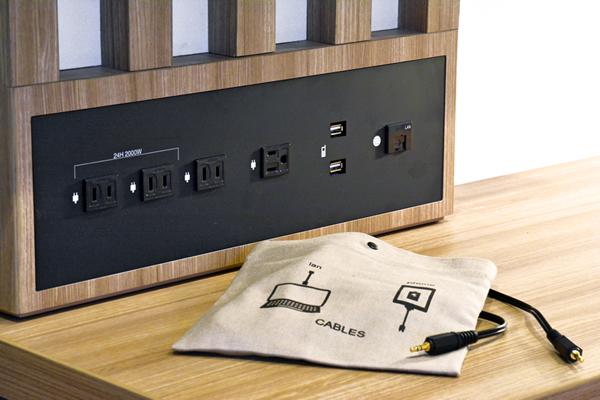 USB端子&スマートフォン用スピーカー