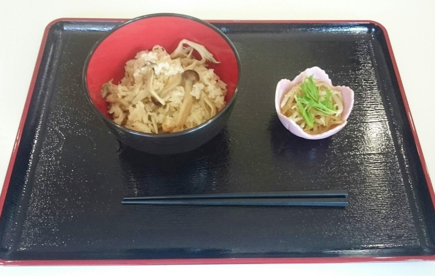 山形の「きのこ」を使った炊き込みご飯