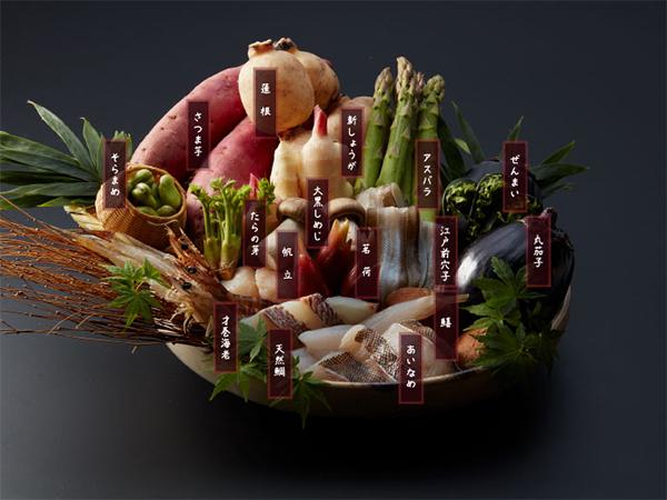 天ぷら 海産物のこだわり