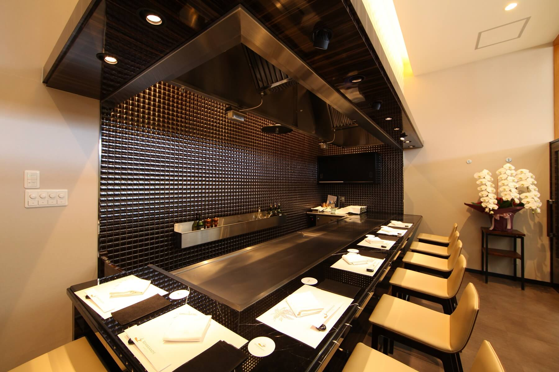 日本料理&鉄板焼 しらがね