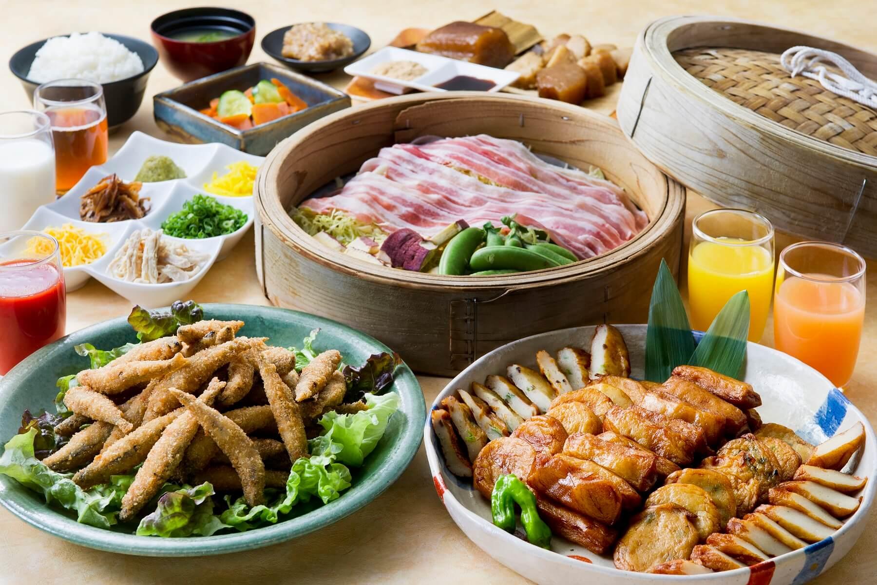 朝食(鹿児島料理)イメージ