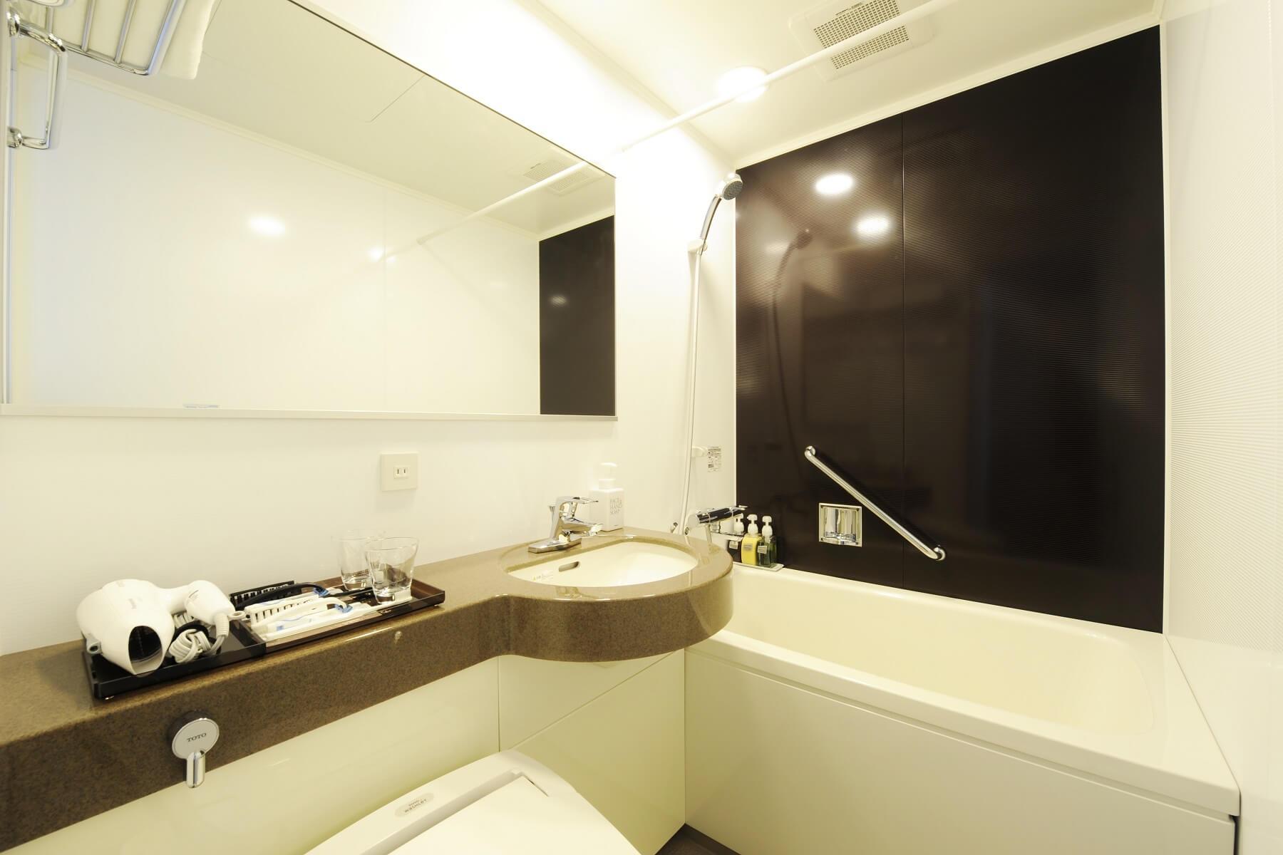 客室 バスルーム