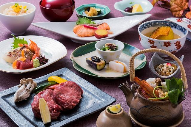 旬菜会席 6,500円(税別)