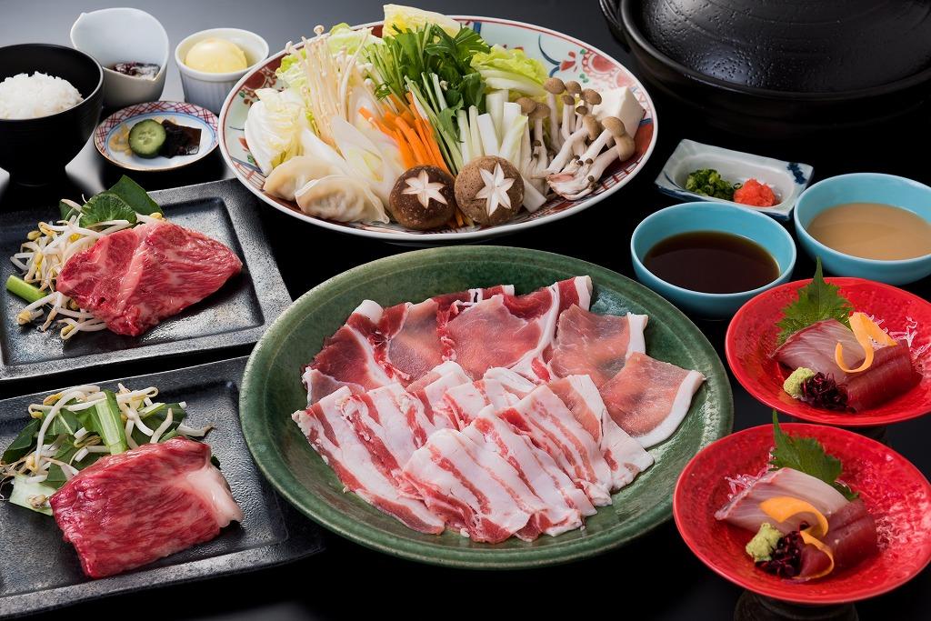 黒牛×黒豚 満喫プラン 5,800円(税別)