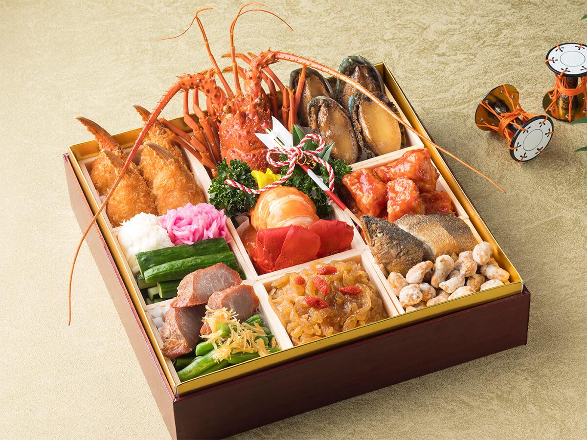 ベストウェスタンレンブラントホテル東京町田|中国料理「龍皇」特製 中華おせち一段重