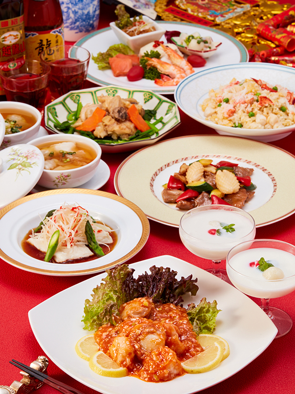 春節祭 ~春節を祝い縁起の良い食材を取り入れた特別コース