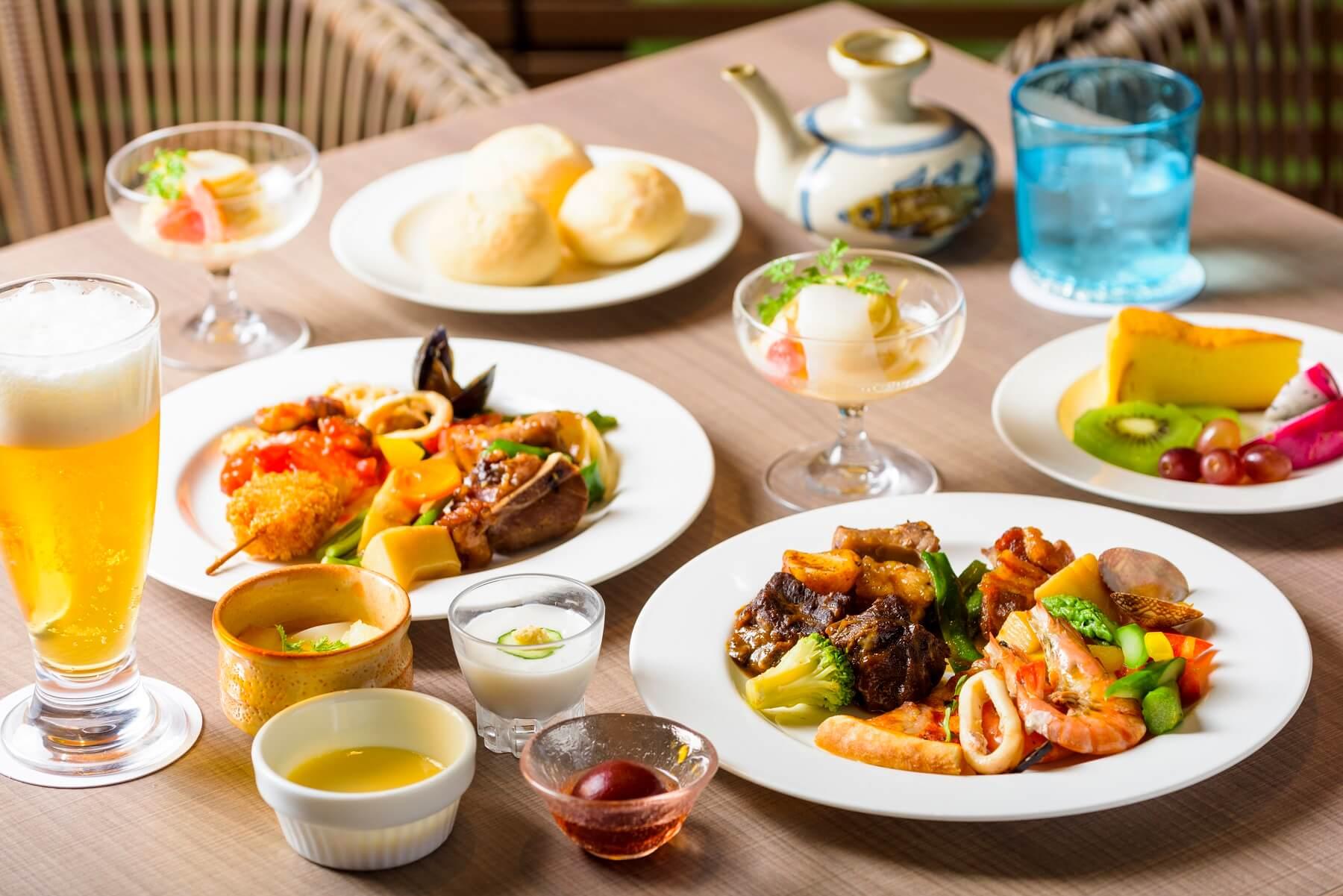 ディナーブッフェ 〜Dinner Buffet〜