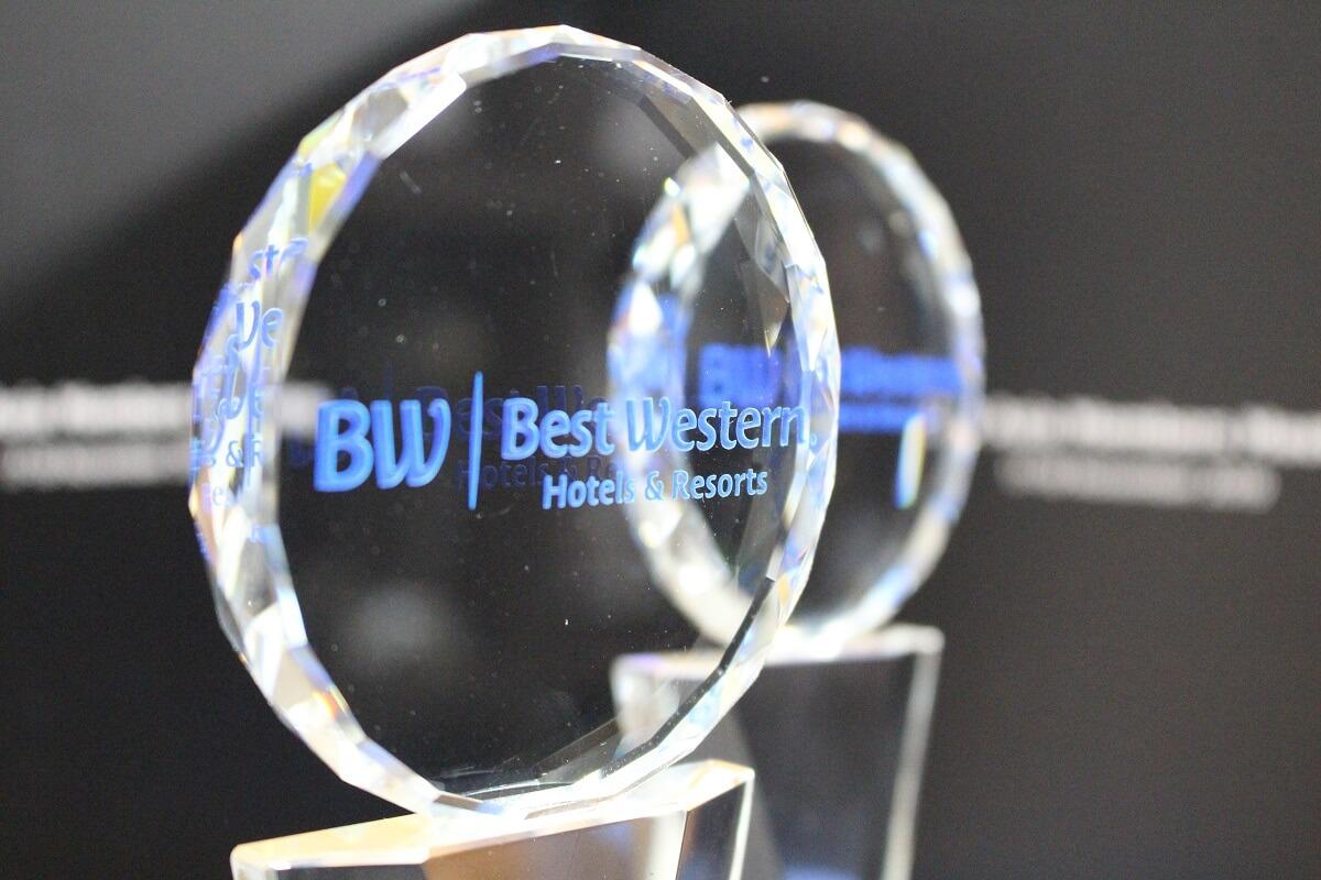 アジアにおけるベストウェスタンホテルアワードを受賞しました。