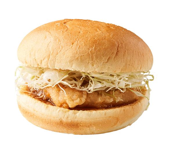 ㉜甘辛チキンバーガー 500円